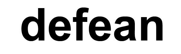 defean