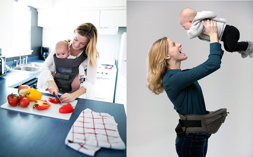 straps chest infantino infants girl sling dad toddlers toddler carrying bag carry holder bulk close