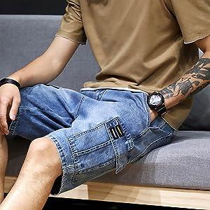 plus size denim shorts boys denim shorts blue denim cargo shorts mens black cargo shorts pocket