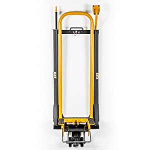 Mower Jack w// Foot Pump Side Lift for Safety 240115 Easy Assembly Cat 600 Lb