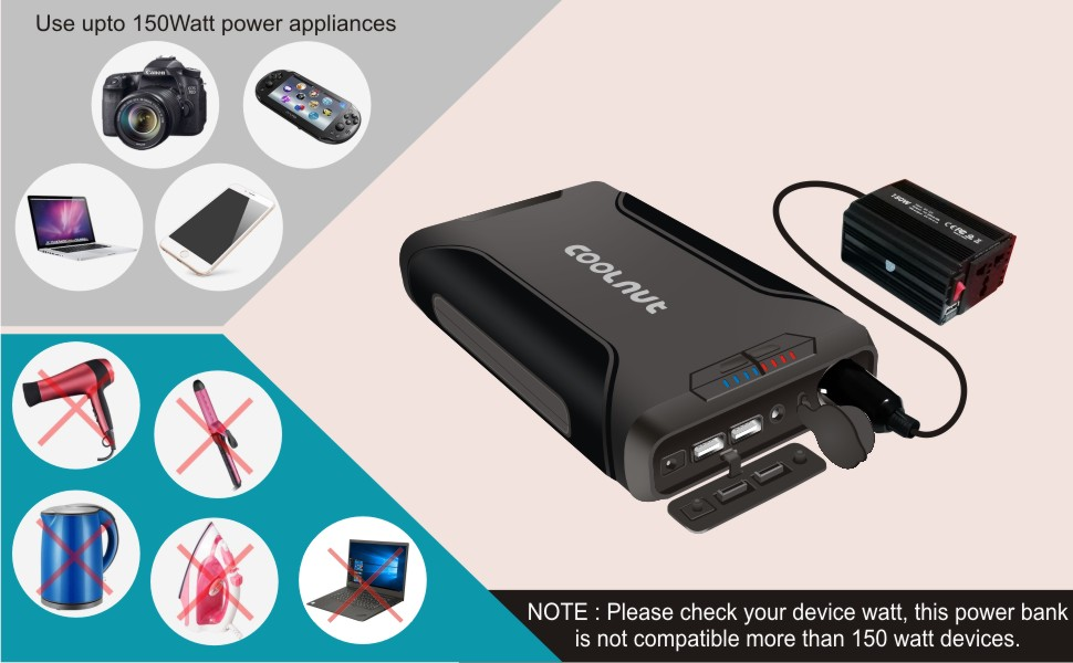 Coolnut Power Bank Compatibility