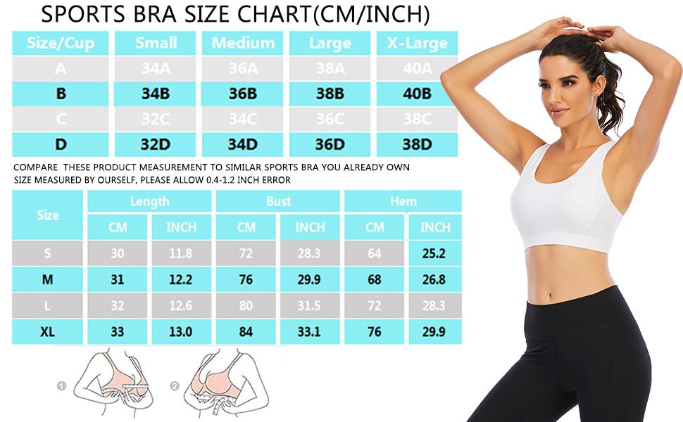 sports bras for women workout crop tops for women