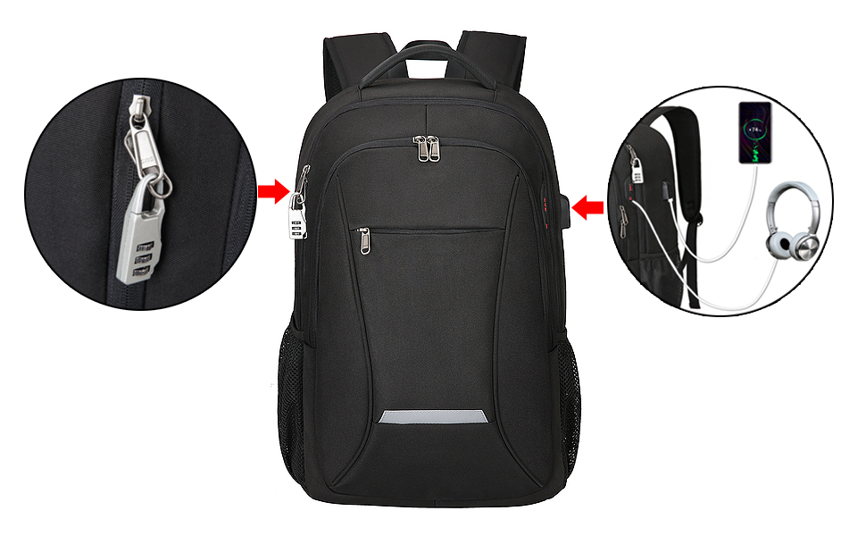 Laptop Backpack Front