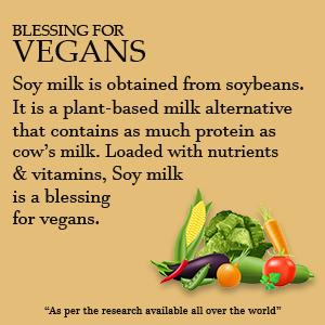 Vegans Soy Milk