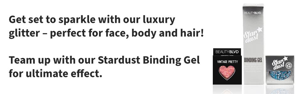 About Stardust, Stardust Binding Gel & Glitter Love