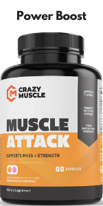 Muscle Attack is a Powerful DHEA Supplement that Boosts & Maintains Hormones