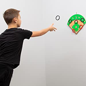 Hook-A-Hit Ring toss Game