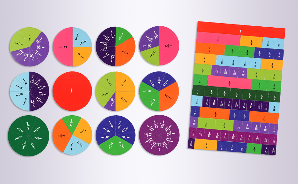 fraction bars, math resources, fraction games for 3rd grade, math manipulatives for elementary