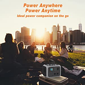 solar power source portable generator power station lithium clean power storage silent power backup