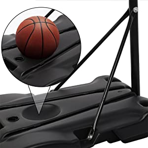 Adjustable basketball hoop kids