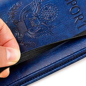passport holder cover wallet case for women men