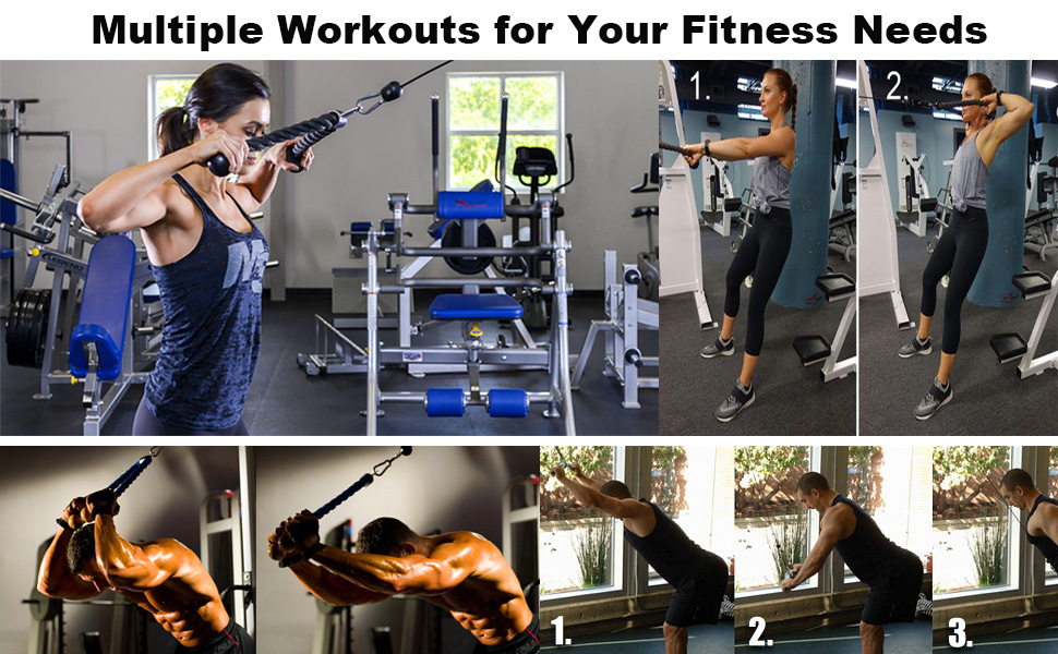 Multiple Workouts for Your Fitness Needs