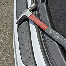 Image Displaying Bumper Cover Providing Protection Against Dropped Hammer