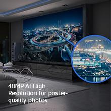 48MP AI Hohe Auflösung
