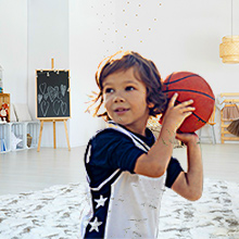 Like a Basketball Pro