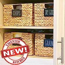 new bin clip label holders
