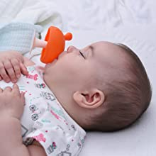 as a pacifier