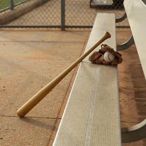 "Batte de baseball en aluminium ou en bois 32/"" 81.5 cm Noir"