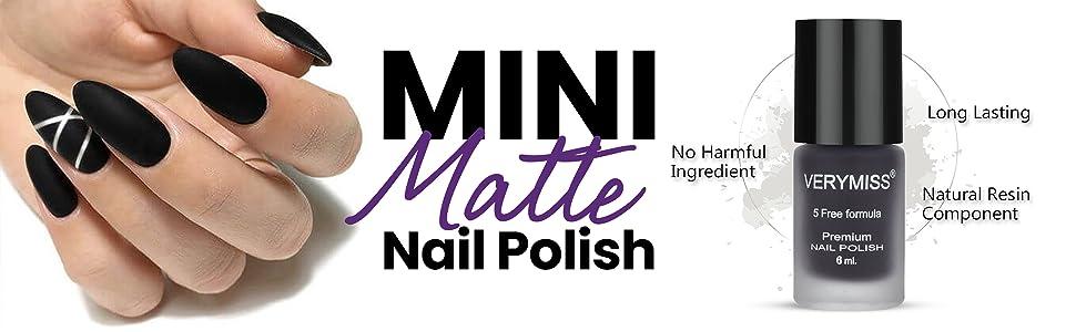 Mini Matte Nail Polish