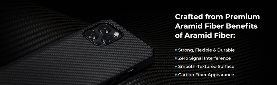 aramid fiber case for iPhone 12 pro max