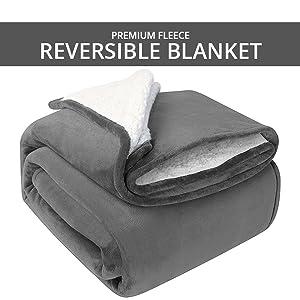 Premium Fleece Reversible Blanket