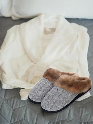 slippers for women memory foam