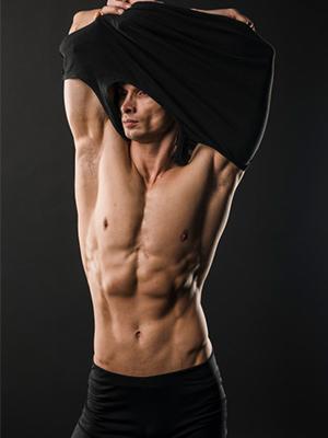 long workout shirts for men