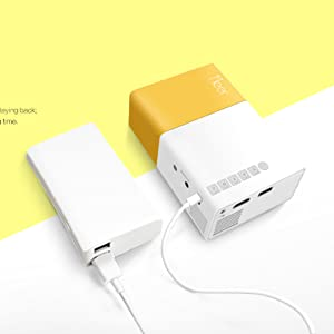 portable and be easily charged by power back