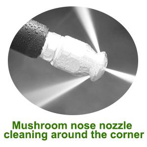 mushroon nose nozzle