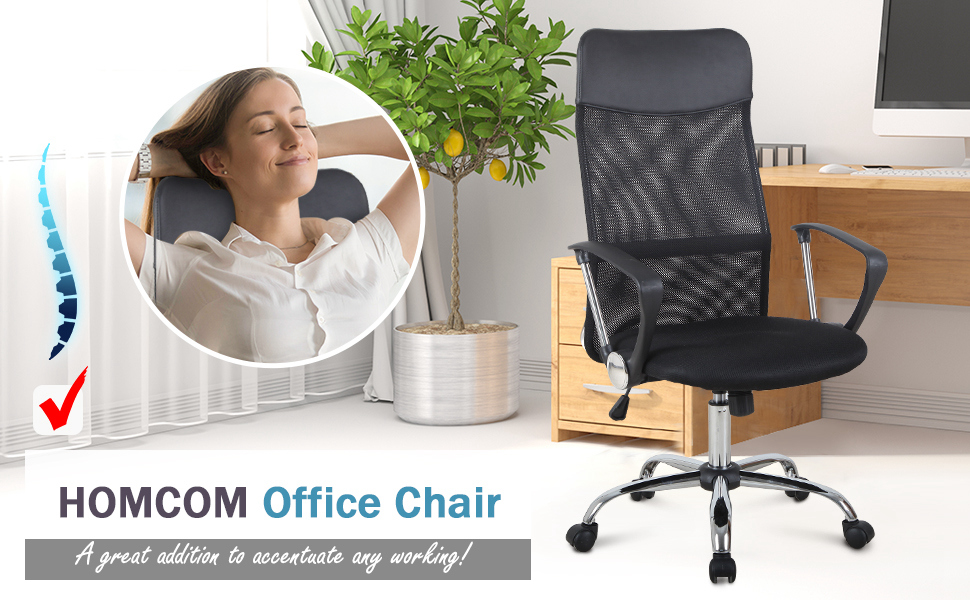 High Back Ergonomic Mesh Office Chair
