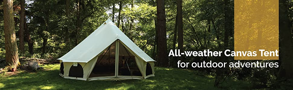 camping tent, glamping, bell tent