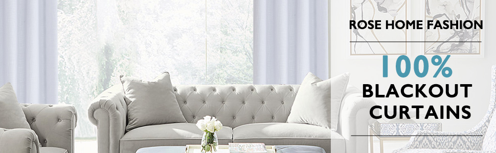 100% blackout curtains for bedroom white curtains for living room
