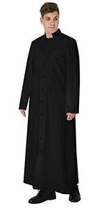 Unisex-Adults Roman Pulpit Clergy Cassock