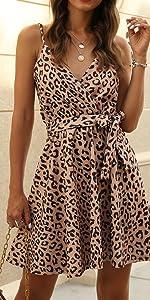 women summer dress floral print