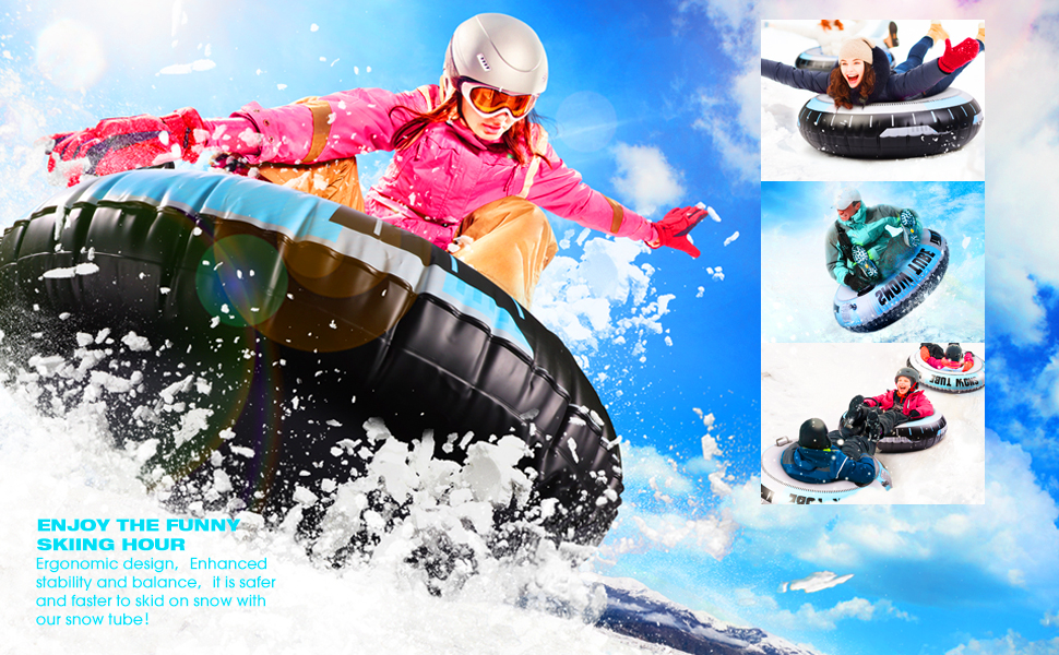 Cool Snow sled Great Christmas gift for Adult and kids