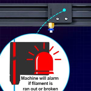 filament run out sensor