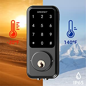 Durable and Delicate Touchscreen lock