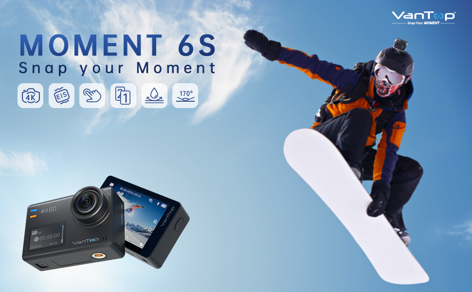 Moment 6S 4k action camera