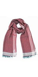 sciarpa rossa lana