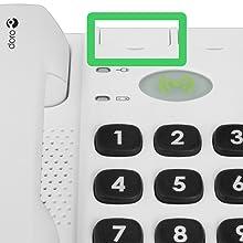 Doro Secure 347 Telefono Fisso per Anziani con Tasti ...
