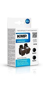 Kmp Druckerkartusche Kompatibel Hp 57 C6657ae 3 Farbig Tintenpatrone Für Hp Deskjet Officejet Photosmart Psc Bürobedarf Schreibwaren