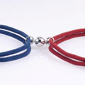 couple magnetic bacelet