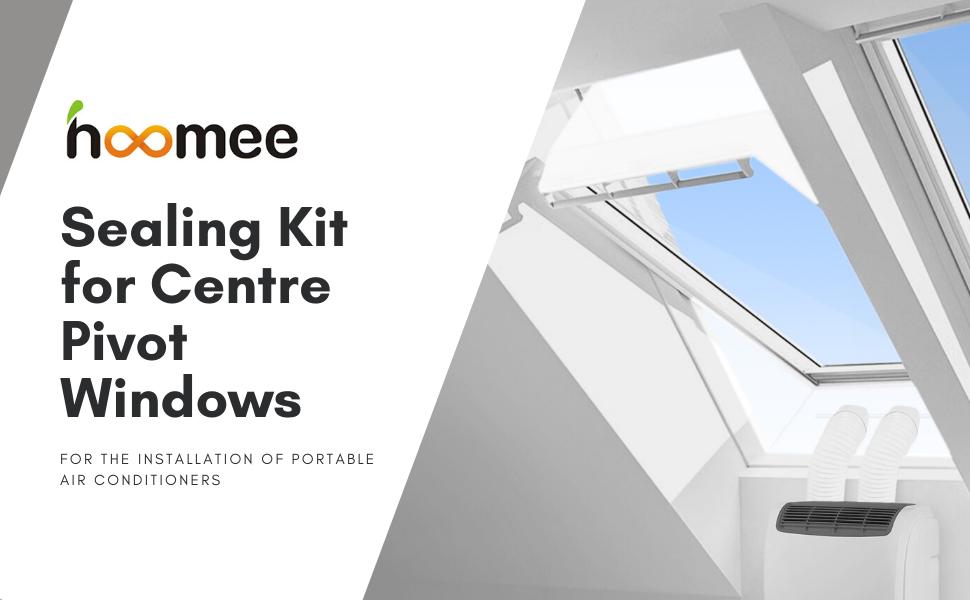 sealing kit for centre pivot windows