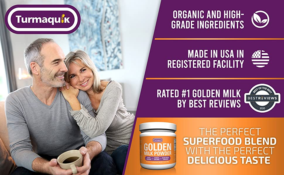 golden milk powder tea latte organic non-gmo superfood best review taste keto vegan plant turmeric