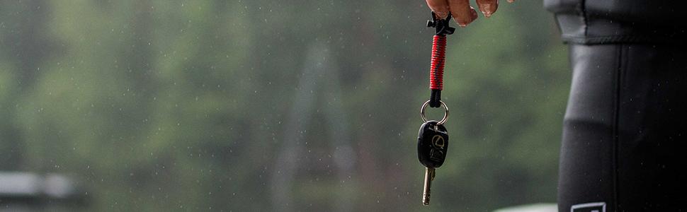 Unisex rope keychain