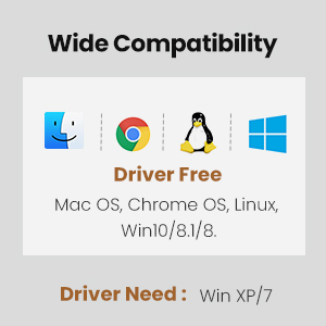usb ethernet adapter wide compatible with mac windows linux