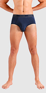 Separatec men's underwear briefs low rise full cut