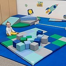 Toddler slide, indoor play equipment, for kids, foam blocks, foam block, indoor playground, indoor