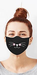 Face Mask, tough cookie mask, cute mask, nose layer mask, cotton mask, black mask, white mask, masks