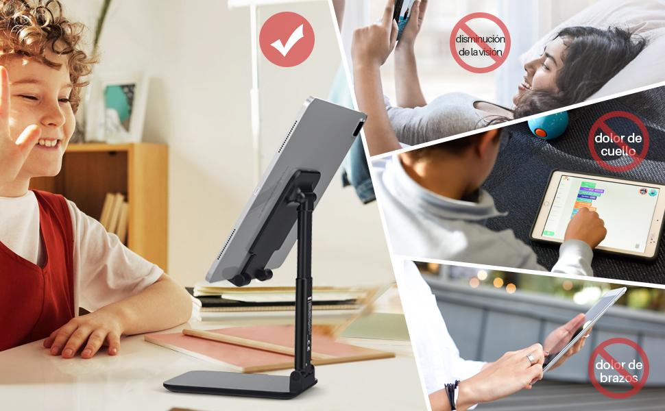adjustable tablet stand holder